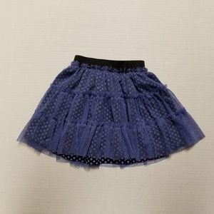 Layered skirt for girls